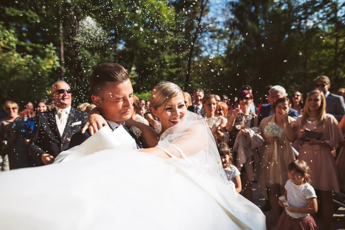 ameriska sanjska poroka 091 - Autumn wedding: Tjasa + Dino