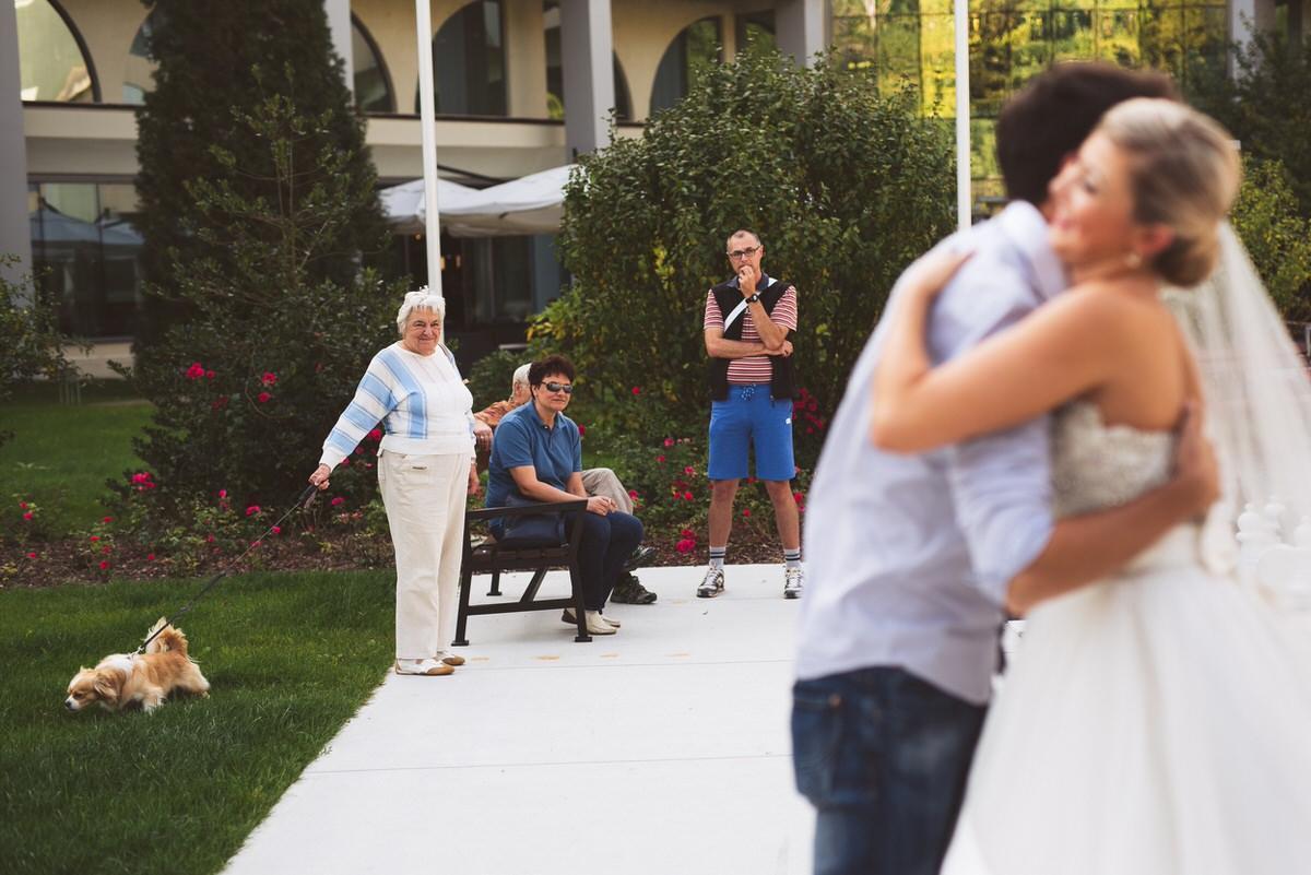 ameriska sanjska poroka 095 - Autumn wedding: Tjasa + Dino