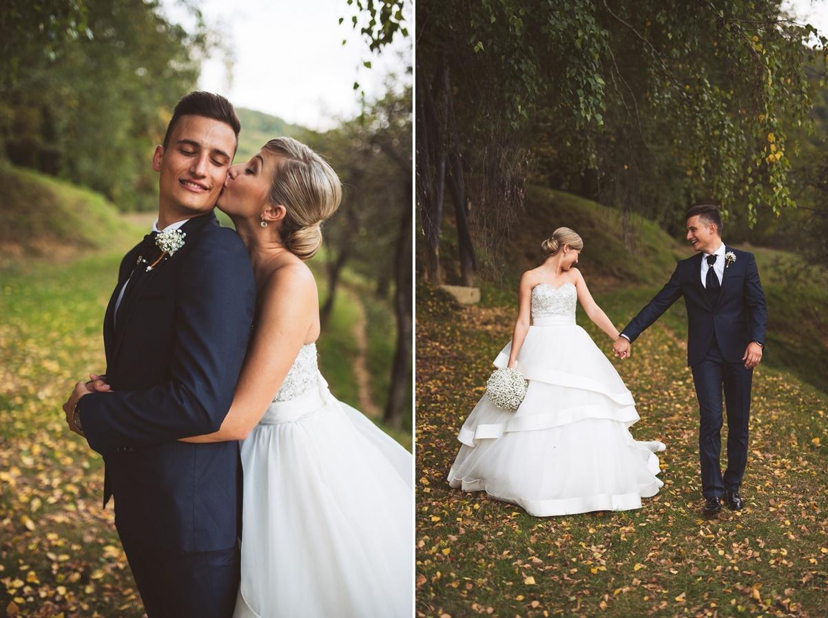 ameriska sanjska poroka 176 horz - Autumn wedding: Tjasa + Dino
