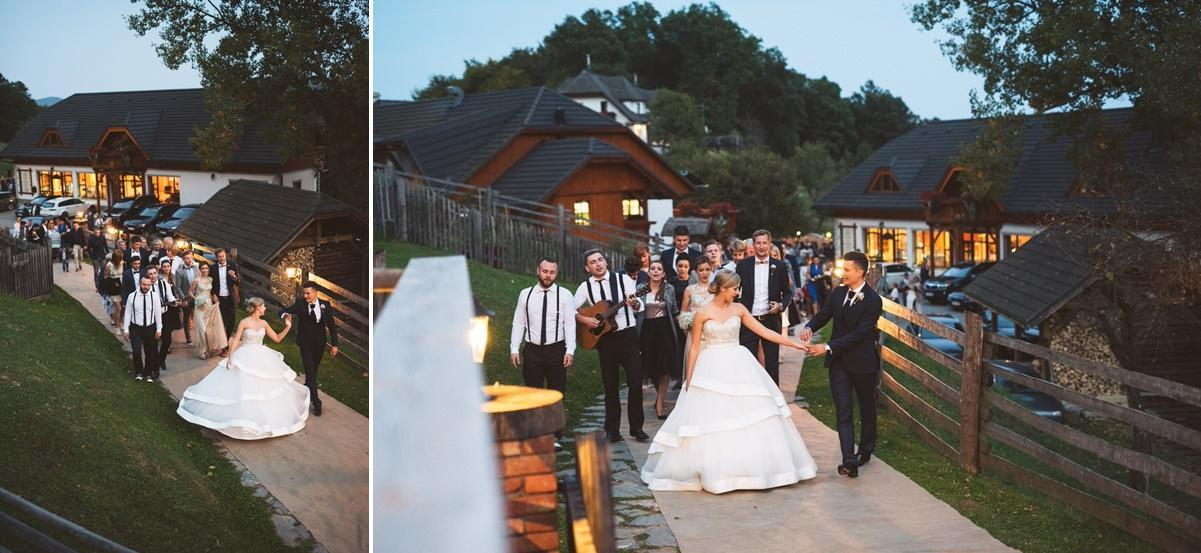 ameriska sanjska poroka 204 horz - Autumn wedding: Tjasa + Dino