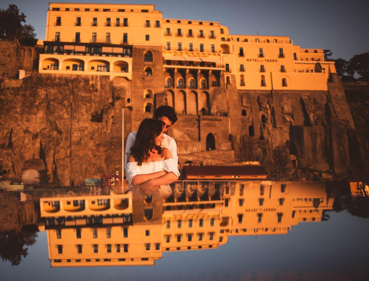 wedding photographer sorrento italy - Engagement session in Sorrento