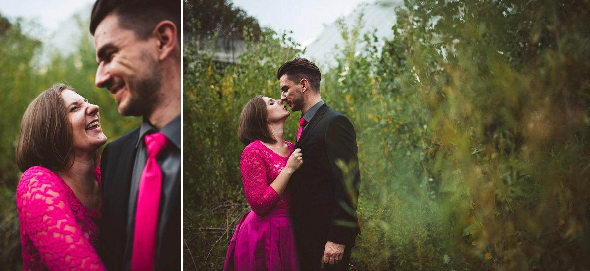 creative abandoned building wedding session elopement 001 - Abandoned Building Wedding Session
