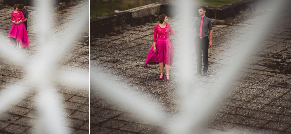 creative abandoned building wedding session elopement 003 - Abandoned Building Wedding Session
