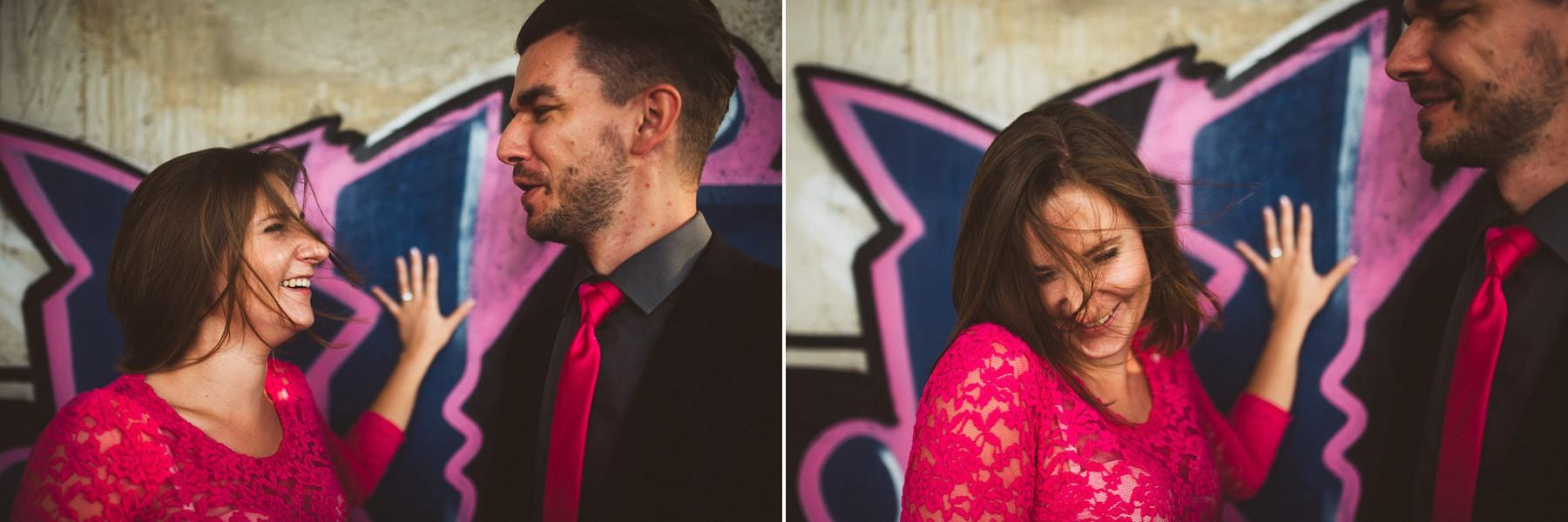 creative abandoned building wedding session elopement 047 - Abandoned Building Wedding Session