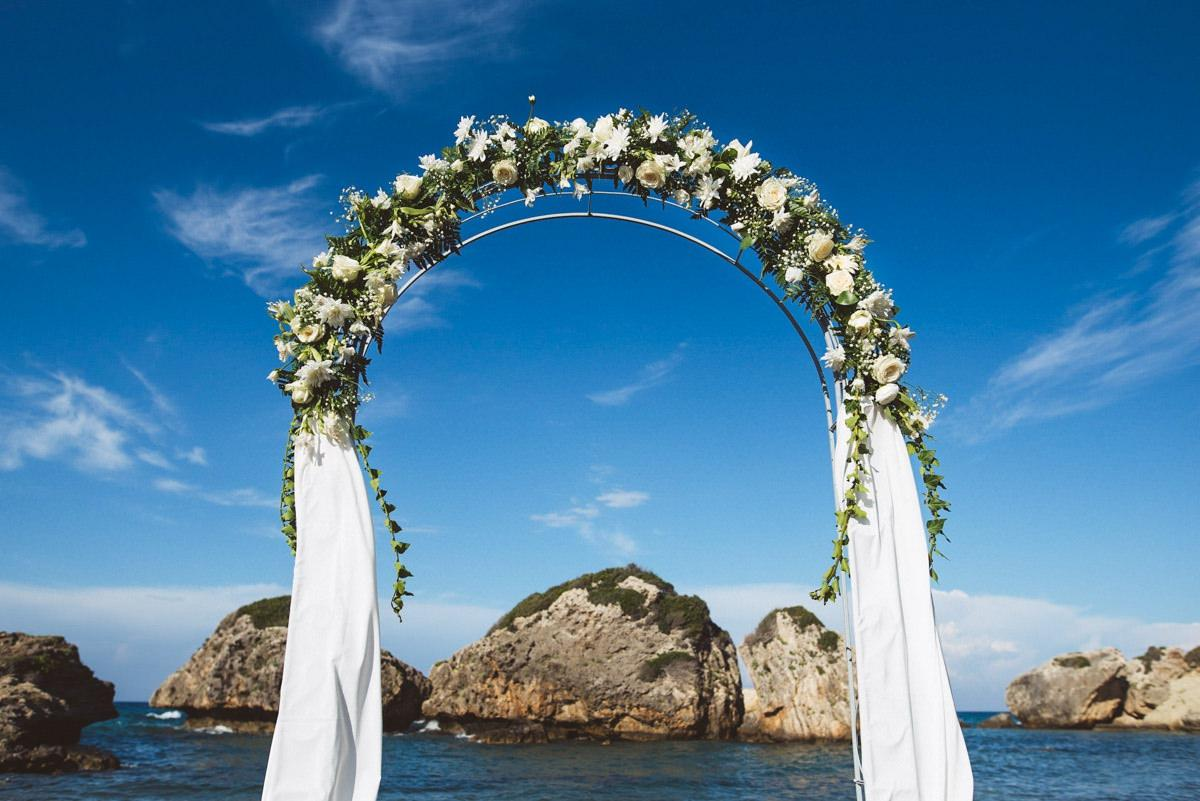 porto azzuro beach wedding 023 - Greece