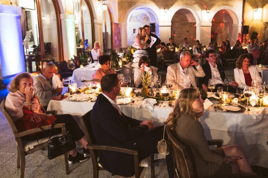 poroka grad otocec 49 1024x681 - Relais Chateaux Castle Otočec wedding